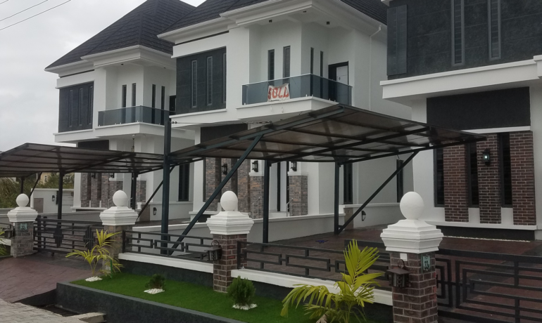 Brand new 5 Bedroom fully detached houses with BQ