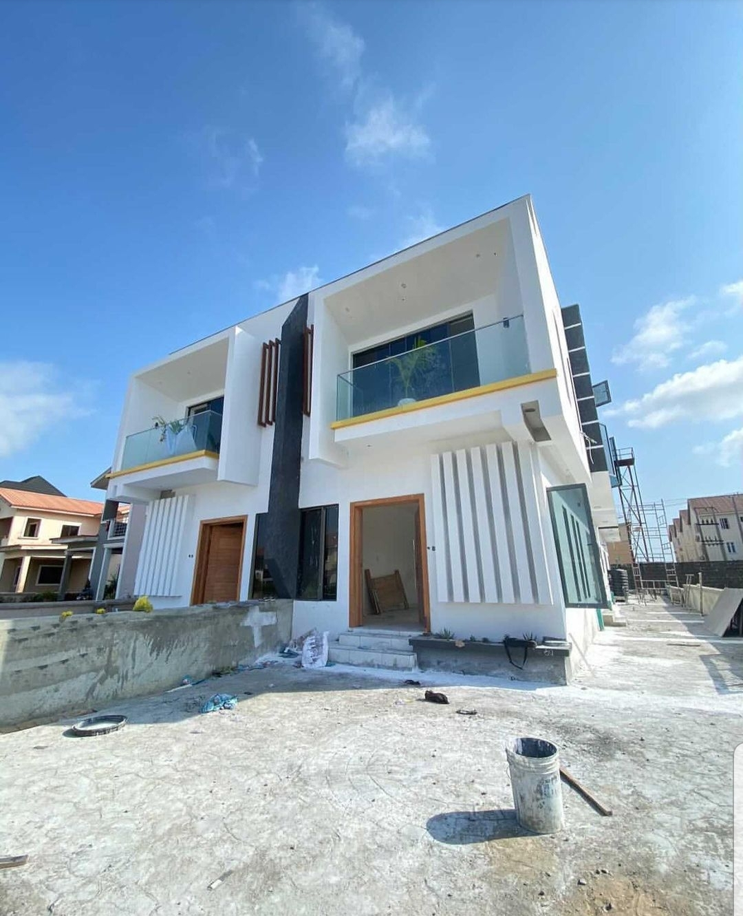 4 Bedroom semi Detached House with BQ – Chevron toll gate, Lekki, Lagos