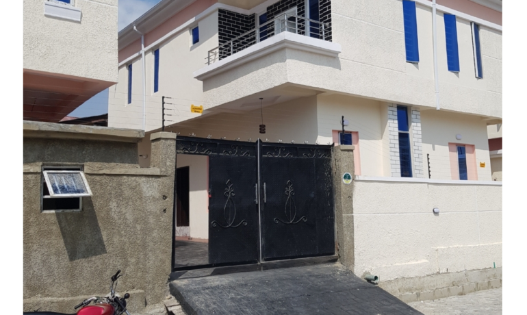 3 Bedroom Fully Detached House with BQ – Ajah, Lekki, Lagos.